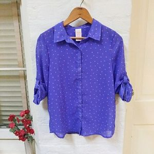 Girls' Button Down Top